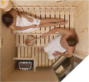 how to turn on a sauna